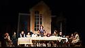 "Buxton International Festival presents ""Albert Herring"", by Benjamin Britten, at Buxton Opera House, Buxton, Derbyshire.  Picture shows: Morgan Pearse (sid), Kathryn Rudge (Nancy), Nicholas Merryweather (Mr Gedge, vicar), Mary Hegarty (Miss Wordsworth), Bradley Smith (albert Herring), Yvonne Howard (Lady Billows), Jeffrey lloyd Roberts (Mr Upfold, mayor), Lucy Schaufer (Florence Pike), John Molloy (Superintendent Budd), Nicholas Challier (Harry), Bonnie Callaghan (Cis), Sophie Gallagher (Emmie)"