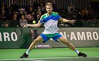 Rotterdam, Netherlands, 10 februari, 2019, Ahoy, Tennis, ABNAMROWTT, PETER GOJOWCZYK  Photo: Henk Koster/tennisimages.com