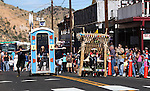 PP Hut defeats KOLO during the first round of Outhouse Races in Virginia City, Nev, on Saturday, Oct. 1, 2011. Competition continues Sunday at noon..Photo by Cathleen Allison