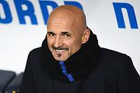 Luciano Spalletti coach of Inter looks on ahead the Serie A 2018/2019 football match between Chievo Verona and Inter at stadio Bentegodi, Verona, December 22, 2018 <br />  Foto Daniele Buffa / Image Sport / Insidefoto