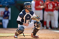 Max Soliz (26) of Bob Jones High School in Madison, AL during the Perfect Game National Showcase at Hoover Metropolitan Stadium on June 19, 2020 in Hoover, Alabama. (Mike Janes/Four Seam Images)