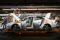 """The General Motors (GM) Detroit/Hamtramck car plant (also called """"Poletown-Plant""""), where Buicks and Cadillacs (including the presidential limousine) are built, in Detroit, Michigan."""