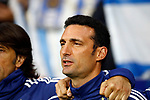 Argentina's coach Lionel Scaloni  during the International Friendly match on 22th March, 2019 in Madrid, Spain. (ALTERPHOTOS/Manu R.B.)