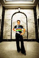 Paracycling world champion Paula Tesoriero. BikeNZ/SPARC World Champions media session at Sparc Headquarters, Wellington, New Zealand on Wednesday, 2 December 2009. Photo: Dave Lintott / lintottphoto.co.nz