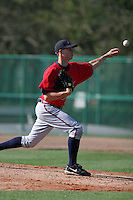 Atlanta Braves minor leaguer Jeff Locke during Spring Training at Disney's Wide World of Sports on March 15, 2007 in Orlando, Florida.  (Mike Janes/Four Seam Images)