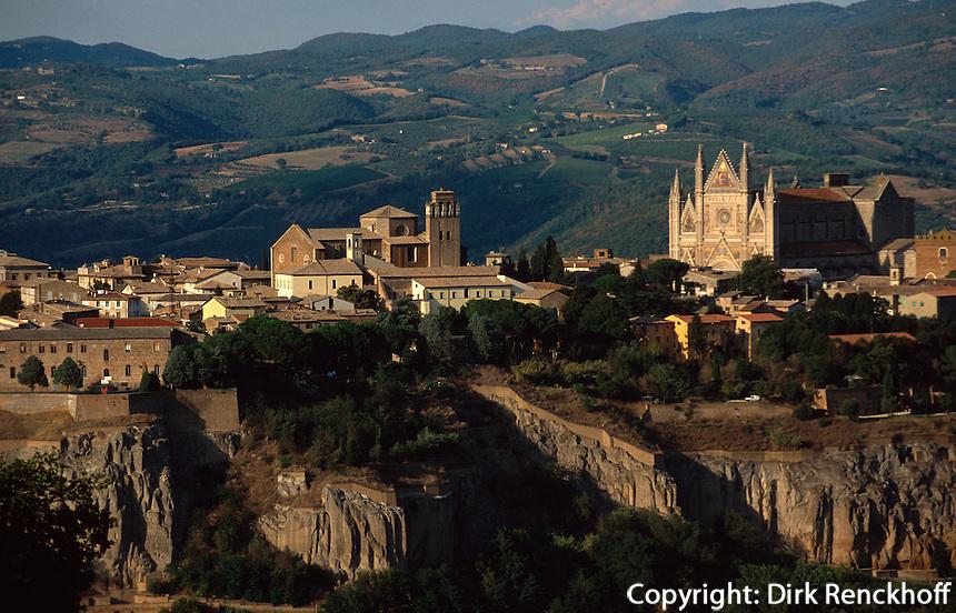 Italien, Umbrien, Blick auf Orvieto