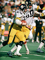 Pittsburgh Steelers Rocky Bleier (12) during a game from his 1975 season with the Pittsburgh Steelers. Rocky Bleier played 11 season, all for the Pittsburgh Steelers.(SportPics)