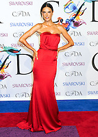 NEW YORK CITY, NY, USA - JUNE 02: Alessandra Ambrosio arrives at the 2014 CFDA Fashion Awards held at Alice Tully Hall, Lincoln Center on June 2, 2014 in New York City, New York, United States. (Photo by Celebrity Monitor)