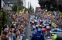 up the crowded Smeysberg<br /> <br /> Elite Men World Championships - Road Race<br /> from Antwerp to Leuven (268.3km)<br /> <br /> UCI Road World Championships - Flanders Belgium 2021<br /> <br /> ©kramon