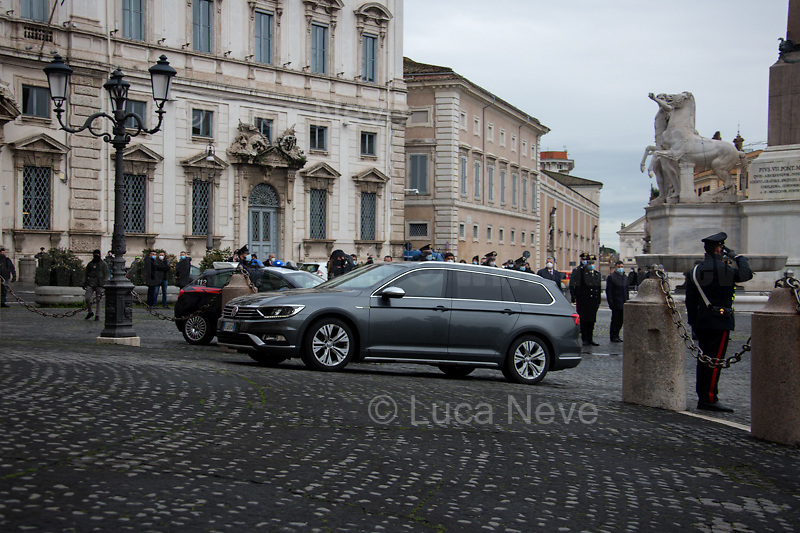Mario Draghi, Prime Minister.<br />