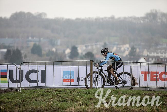 Laura Verdonschot (BEL/Marlux-Bingoal)<br /> <br /> Women U23 Race<br /> UCI CX Worlds 2018<br /> Valkenburg - The Netherlands