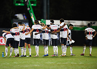 LAKE BUENA VISTA, FL - JULY 26: The Vancouver Whitecaps FC players look on in the shootout during a game between Vancouver Whitecaps and Sporting Kansas City at ESPN Wide World of Sports on July 26, 2020 in Lake Buena Vista, Florida.