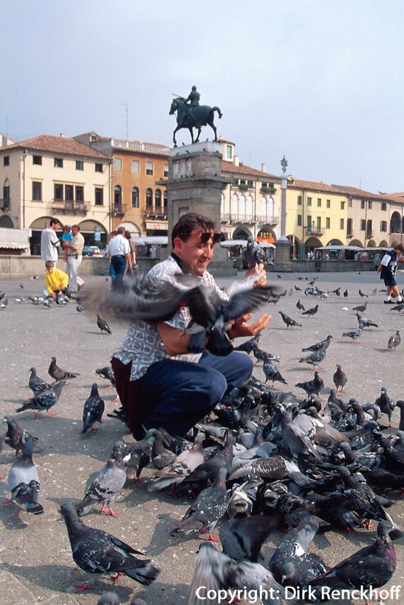 auf der Piazza del Santo, Padua, Venetien, Italien
