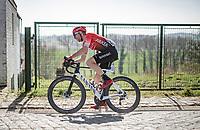 Clément Russo (FRA/Arkéa Samsic) <br /> <br /> 76th Dwars door Vlaanderen 2021 (MEN1.UWT)<br /> 1 day race from Roeselare to Waregem (184km)<br /> <br /> ©kramon