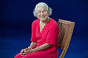 Edinburgh, UK. 24.08.2013. Judith Kerr, author of The Tiger Who Came To Tea, Edinburgh International Book Festival. Photograph © Jane Hobson.