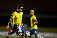 13th November 2020; Morumbi Stadium, Sao Paulo, Sao Paulo, Brazil; World Cup 2022 qualifiers; Brazil versus Venezuela;  Roberto Firmino of Brazillays off a pass