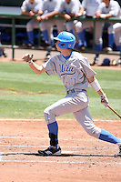 Trevor Brown #11 of the UCLA Bruins plays against the Arizona State Sun Devils on May 29, 2011 at Packard Stadium, Arizona State University, in Tempe, Arizona. .Photo by:  Bill Mitchell/Four Seam Images.