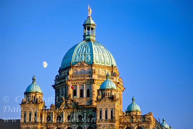 Parliament Building, Victoria, British Columbia, Canada.
