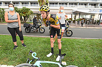 29th August 2020, Nice, France;  BENNETT George of Team Jumbo-Visma during stage 1 of the 107th edition of the 2020 Tour de France cycling race, a stage of 156 kms with start in Nice Moyen Pays and finish in Nice