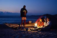 Kayak de mer en Corse