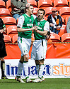 09/05/2010   Copyright  Pic : James Stewart.sct_js004_dundee_utd_v_hibernian  .::  COLIN NISH CELEBRATES AFTER HE SCORES THE FIRST FOR HIBS ::  .James Stewart Photography 19 Carronlea Drive, Falkirk. FK2 8DN      Vat Reg No. 607 6932 25.Telephone      : +44 (0)1324 570291 .Mobile              : +44 (0)7721 416997.E-mail  :  jim@jspa.co.uk.If you require further information then contact Jim Stewart on any of the numbers above.........