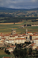Europe/France/Auvergne/43/Haute-Loire/Saugues : Le village
