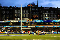 General view of a scrum during the Amlin Challenge Cup Final between Bath Rugby and Northampton Saints at Cardiff Arms Park on Friday 23rd May 2014 (Photo by Rob Munro)