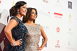 Maria Bravo and Eva Longoria attends to the photocall of the Global Gift Gala at Cibeles Palace in Madrid. April 02, 2016. (ALTERPHOTOS/Borja B.Hojas)