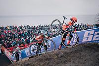 Marianne Vos (NED/CCC)<br /> <br /> Women's Elite race<br /> <br /> UCI 2019 Cyclocross World Championships<br /> Bogense / Denmark<br /> <br /> ©kramon