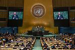 LOS general debate – 27 September<br /> <br /> PM<br /> <br /> His Excellency Charles Michel, Prime Minister, Kingdom of Belgium