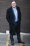 © Joel Goodman - 07973 332324 . 05/03/2017 . London , UK . ED BALLS arrives at ITV studios , wearing his glasses , on South Bank before appearing on the Peston on Sunday show . Photo credit : Joel Goodman