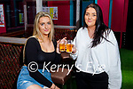 Enjoying the reopening of the Mermaids in Listowel on Bank Holiday Monday, l to r: Tara Histon from Athea and Ciara Sheehan from Listowel.