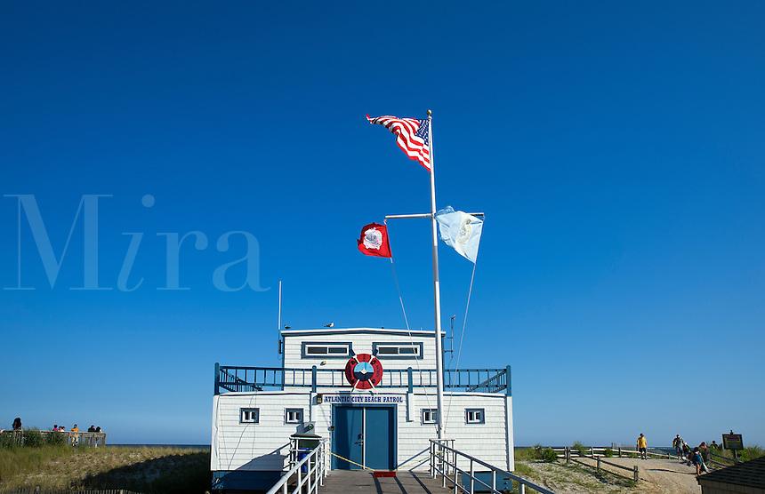 Atlantic City Beach Patrol office,  New Jersey, USA