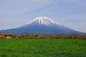 Paragliding by Mt.Fuji