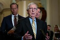 Republican Senators luncheon press conference