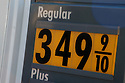 Rising Gas Prices in North Scottsdale on Frank Lloyd Wright and .the 101 on Tuesday, February 22, 2011..Photo by AJ Alexander