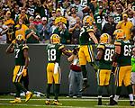 Green Bay Packers vs. Seattle Seahawks at Lambeau Field in Green Bay, Wis., on September 10, 2017.