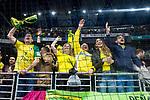 Jaen P. Interior supporters celebrating the victory during Semi-Finals Futsal Spanish Cup 2018 at Wizink Center in Madrid , Spain. March 17, 2018. (ALTERPHOTOS/Borja B.Hojas)