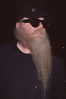 Dusty Hill from ZZ Top at the Rihga Royal Hotel in New York City on October 2, 1996. Photo Credit: Henry McGee/MediaPunch