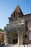 Europe/France/Midi-Pyrénées/82/Tarn-et-Garonne/Moissac: Eglise abbatiale Saint-Pierre de Moissac: Portail méridionnal, le tympan