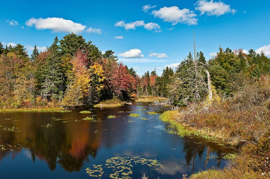 Landscape, Sorrento, Maine, ME, USA