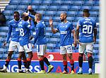 15.05.2021 Rangers v Aberdeen: Kemar Roofe celebrates