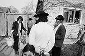 Merghindeal, Transylvania<br /> Romania<br /> April 27, 1992<br /> <br /> Gypsy game with water