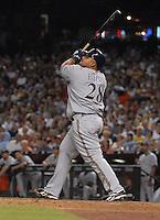 Aug 22, 2007; Phoenix, AZ, USA; Milwaukee Brewers first baseman (28) Prince Fielder against the Arizona Diamondbacks at Chase Field. Mandatory Credit: Mark J. Rebilas-US PRESSWIRE Copyright © 2007 Mark J. Rebilas