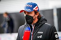 26th August 2021; Spa Francorchamps, Stavelot, Belgium: FIA F1 Grand Prix of Belgium, driver arrival day: ALONSO Fernando spa, Alpine F1 A521