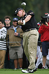 02/04/10 Los Angeles,CA: Steve Stricker during the first round of the Northern Trust Open held at Riviera Country Club.