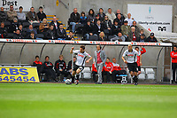 ATTENTION SPORTS PICTURE DESK<br /> Pictured:<br /> Re: Coca Cola Championship, Swansea City Football Club v Doncaster Rovers at the Liberty Stadium, Swansea, south Wales. Sunday 02 May 2010