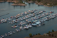Lake Pueblo North Shore Marina at dusk. June 2014. 85035
