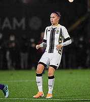 forward Estelle Dessilly of Sporting Charleroi pictured during a female soccer game between Sporting Charleroi and RSC Anderlecht on the third matchday of the 2020 - 2021 season of Belgian Scooore Womens Super League , friday 2 nd of October 2020  in Marcinelle , Belgium . PHOTO SPORTPIX.BE | SPP | DAVID CATRY
