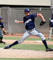 Cody Adams - Milwaukee Brewers 2009 Instructional League.Photo by:  Bill Mitchell/Four Seam Images..